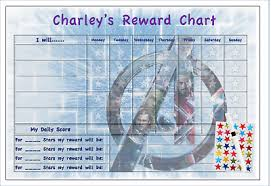 Avengers Potty Chart Personalised Reward Chart Good Behaviour Potty Toilet