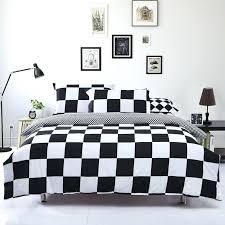 black and white king duvet cover best black and white checd duvet cover on covers with