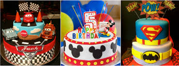Birthday Planners Hyderabad Unique Boy Theme Cakes For Birthday