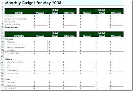 Simple P L Excel Template Budget Planner Template Free Business Expenses Excel Simple