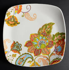 better homes and gardens plates. Delighful Homes Better Homes And Gardens Floral Spray Square Dinner Plate On And Plates E