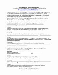 Sample Of Career Objectives For Resume Teacher Trainer Sample Resume New Objective for Resumes 100 Sample 65