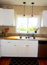 kitchen sink lighting. Kitchen Sink Pendant Light Distance From Wall Design With Size 1152 X 1600 Lighting N