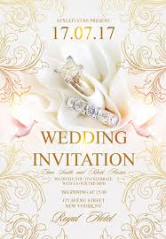 download free wedding flyer psd templates for photoshop Wedding Cards Psd Free free wedding invitation flyer template wedding cards psd free download