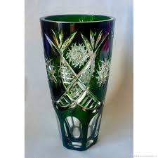 29 fabulous antique orange glass vase
