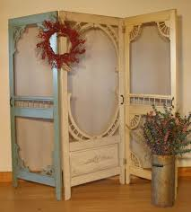 hand made denise s screen door room divider by country woods designs custommade