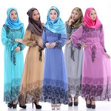2017 2016 New Arrival Kaftan Islamic Muslim Abaya Women Chiffon