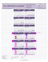 Pregnacy Clander Pregnancy Calendar Excel Calendars