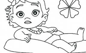 Sophisticated Moana Coloring Pages Collection Of Pages Baby Pages