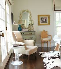 french eclectic living room