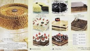 Breadtalk Menu Bakery Cake In Batam Jakarta