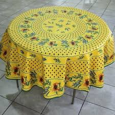 yellow round tablecloth round cotton table cloth coated cotton tablecloth collection round cotton table cloth