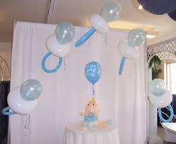 baby boy shower balloon arches   Cutie Pie Baby Pacifier Archway