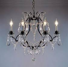 bronze chandelier with crystals brilliant antique 4 light round within oil rubbed decorations 5