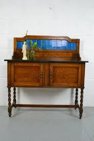 office furniture desk vintage chocolate varnished. In Lust With This Edwardian Oak Blue Tiled Washstand. Retro FurnitureAntique Office Furniture Desk Vintage Chocolate Varnished