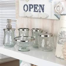 clear glass bathroom accessories. buy the hanima clear crackle glass bathroom soap dish at range accessories p