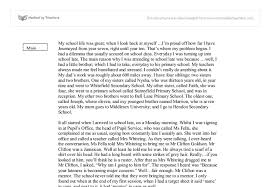 essay for school life high school life essay wattpad