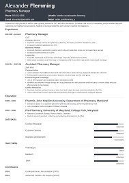 Sample Pharmacist Resume Template Guide 20 Examples