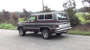 1984 Chevrolet Blazer Survivor Video 1 - YouTube