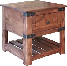 ifd867end parota ii collection solid wood end table oak for less solid wood end tables57