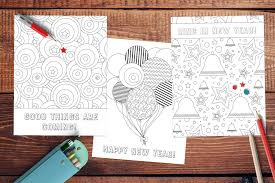 Looking for some new year's coloring pages? Free New Year Coloring Pages Www Teepeegirl Com
