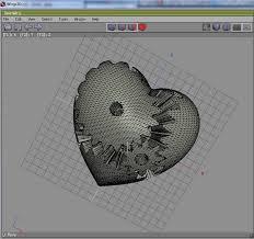 heart gears by emmett opened in wings3d