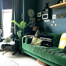 surprising green couch living room dark green living room best couches ideas on rugs green sofa
