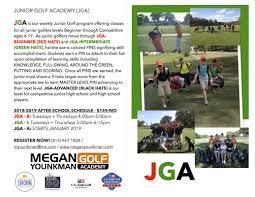 after junior golf program register now