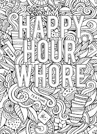 Swear Word Adult Coloring Book For