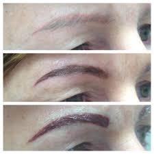 permanent makeup correction brows