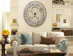 elegant large wall clock decor ideas