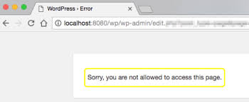 "10 Ways to Fix the ""Sorry, You Are Not Allowed to Access This Page ..."