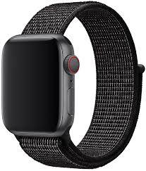 <b>Ремешок Apple</b> Sport Nike <b>Nylon</b> Band для Watch 40 мм black ...
