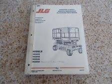 jlg heavy equipment manuals books for scissor lift 394 jlg commander scissor lift service part manual cm2033 cm2046 cm2546 cm2558