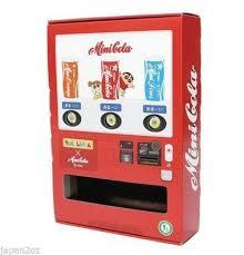 Mini Soda Candy Vending Machine Cool SHINCHAN DIY MINI CANDY DRINK MACHINE Orion