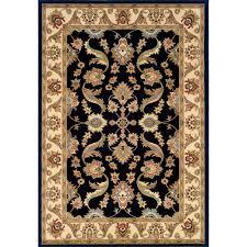 black and cream rug. LR Resources Adana Black/Cream 9 Ft. X 13 Plush Indoor Area Black And Cream Rug A