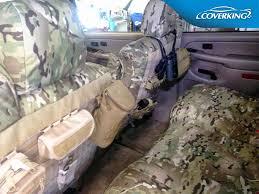 2017 f150 coverking ballistic multi cam rear seat covers tan