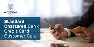 standard chartered credit card customer
