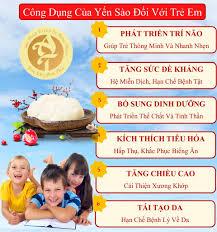 Những Công Dụng Của Yến Sào Với Trẻ Em - Cách Chưng Yến Cho Bé – Yến Sào  Anh Thư