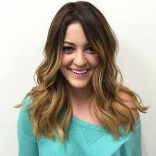 Sombre Ombre Balayage Blonde Caramel Babylights