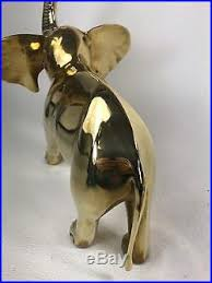Small Picture Elephant Statue Figurine Large Vintage Brass Elephant Statue Mid