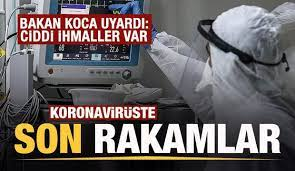 Son dakika: 8 Ekim koronavirüs tablosu açıklandı! Tablo ciddiyetini koruyor  - GÜNCEL Haberleri