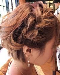 結婚式や披露宴パーティーに行く時のショートボブの髪型は Belcy