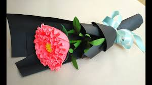 Paper Flower Bouquet Tutorial How To Make Paper Flower Bouquet At Home Easy Peony Paper Flower Bouquet For Beginner