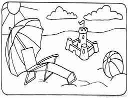 Small Picture Pre K Coloring Pages Free Printable Beach Sand Bucket Coloring