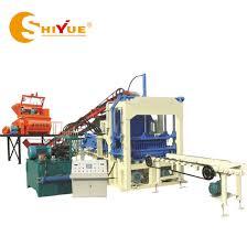 mechanical equipments list china qt4 15 block making machine price list hollow manual block