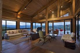 Modern Wood House Mountain House By David Guerra Architecture And Interior