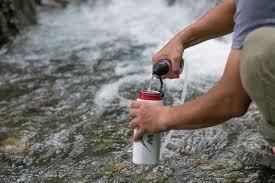 portable water filter. MSR TrailShot Microfilter Portable Water Filter L