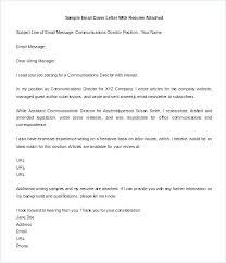 Sending Resume Email Samples Resume Email Sample Keralapscgov