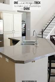 how to make your countertops shine like never before